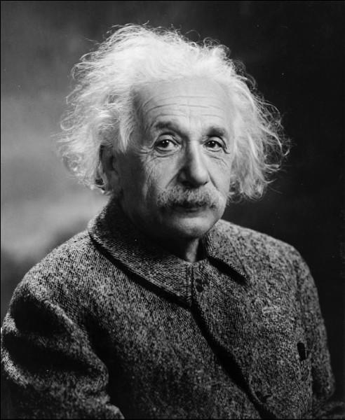 Einstein est détenteur du prix Nobel de chimie.