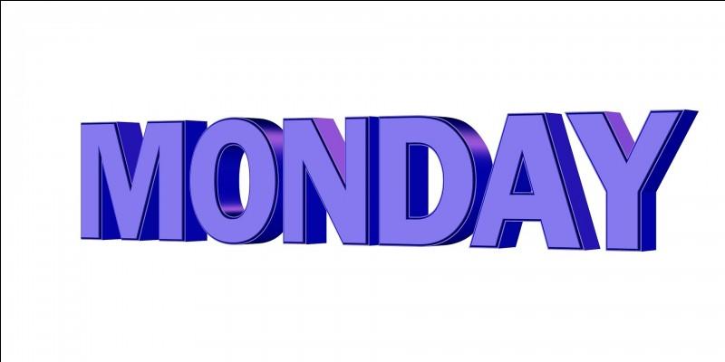 Quelle vidéo fait-elle les lundis ?