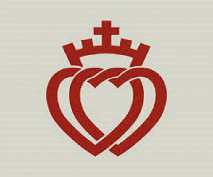 De quel département ce double coeur est-il l'emblème ?