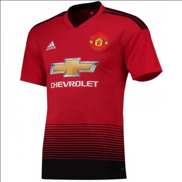 Quellle équipe possède ce maillot ?