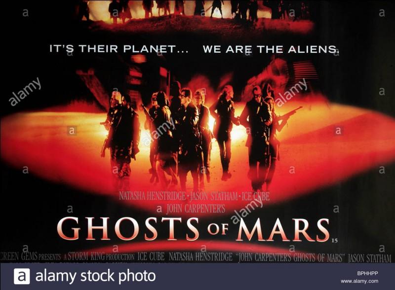 """""""Ghosts of Mars"""" est un long-métrage réalisé par John Carpenter."""