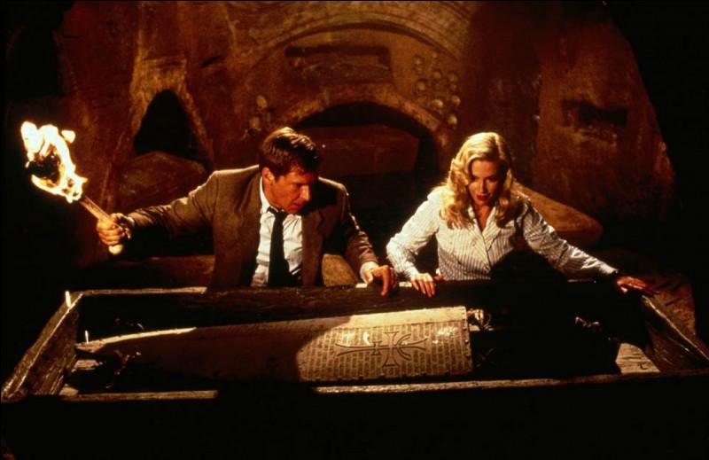 """""""Indiana Jones et la Dernière Croisade"""" est un film joué par Sean Connery."""