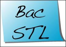 Quel est l'intitulé du bac STL ?
