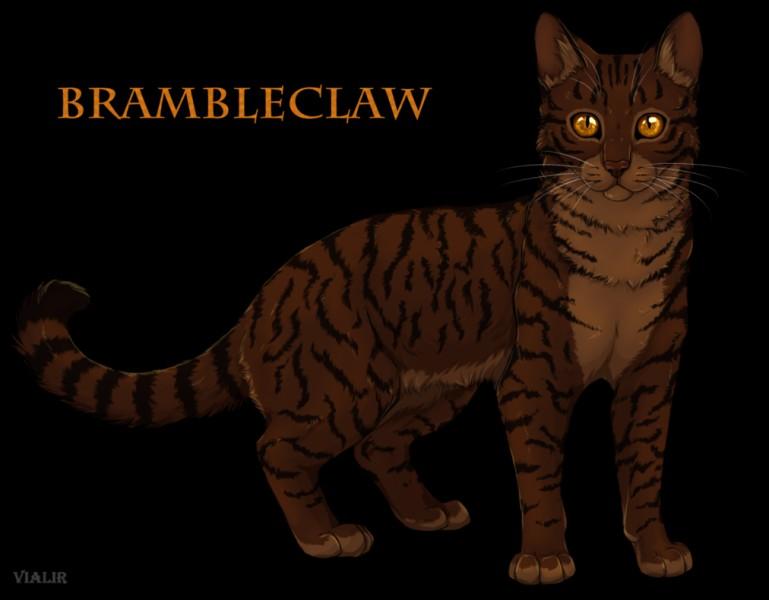 Le chat sur cette image, le chef du clan du Tonnerre après la grande bataille, c'est...