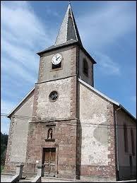 Vous avez sur cette image l'église Saint-Antoine de Biffontaine. Village Vosgien, il se situe en région ...