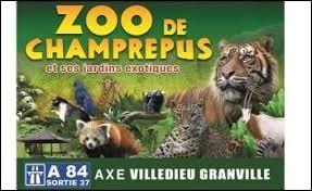 Je vous propose de faire une petite pause au parc zoologique de Champrepus. Nous sommes en Normandie, dans le département ...