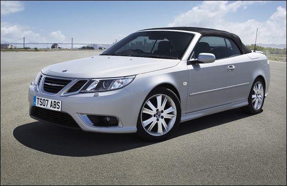 Quel est le modèle de cette Saab ?