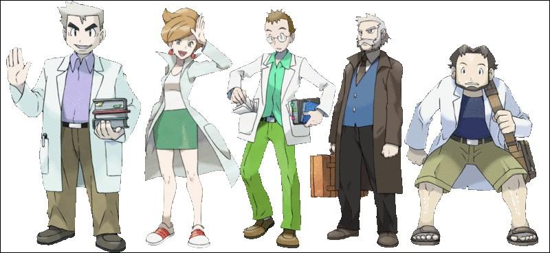 Qui n'est pas un professeur Pokémon mais un PT1 d'arbre ?
