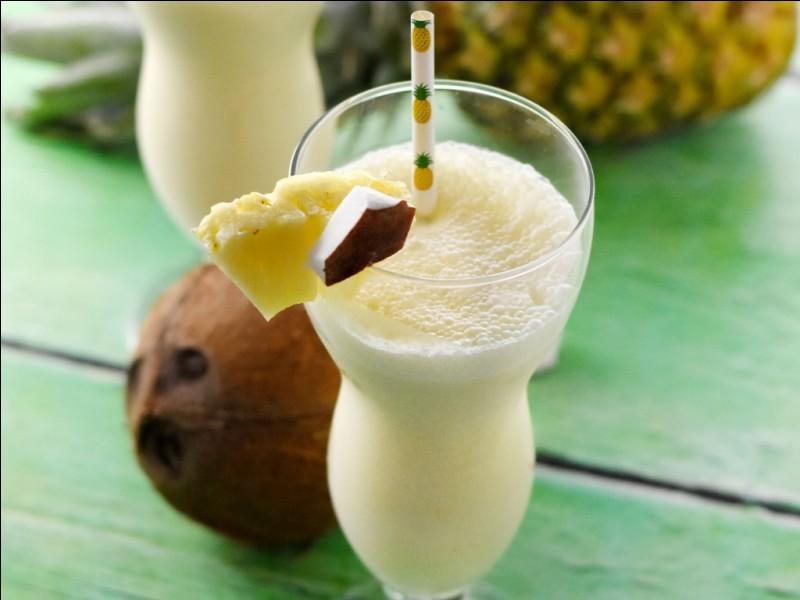 Quel jus de fruit est indispensable à la confection de la piña colada ?