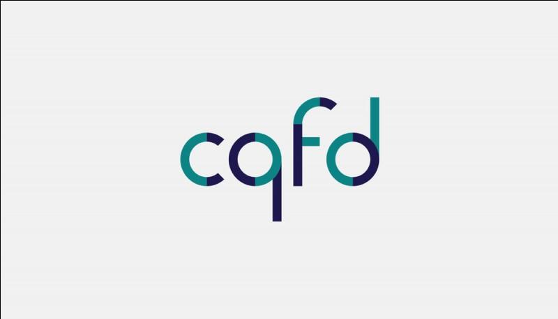 """Que signifie l'abréviation """"CQFD"""" ?"""