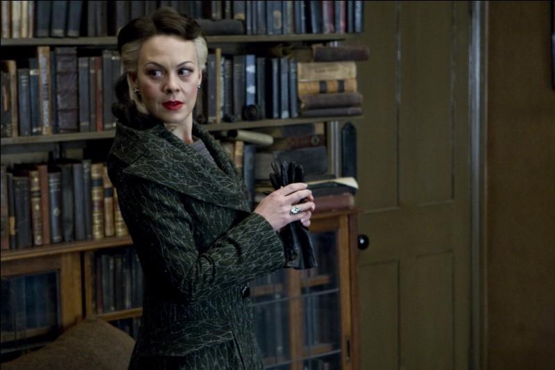 De qui Narcissa Malfoy est-elle la soeur ?
