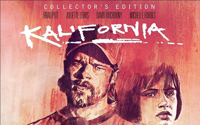 """""""Kalifornia"""" est un film interprété par David Duchovny."""