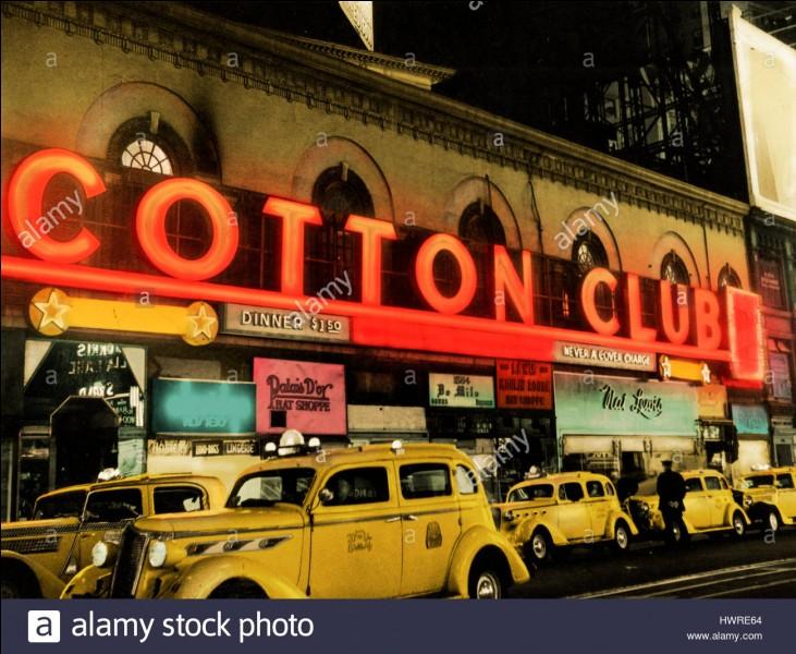 """""""Cotton Club"""" est un long-métrage réalisé par Sofia Coppola."""