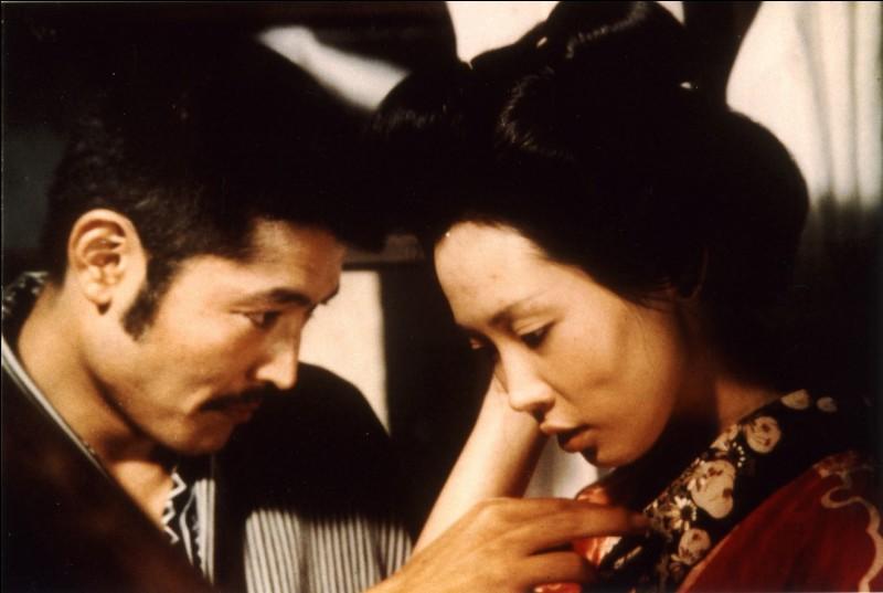 """L'Empire des sens"" est un film réalisé par Nagisa Oshima."