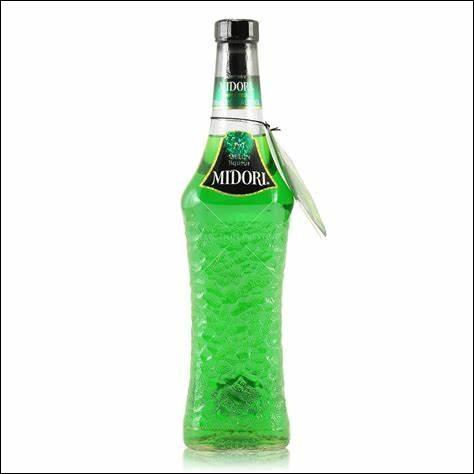 Quel est le pays d'origine de la liqueur Midori ?