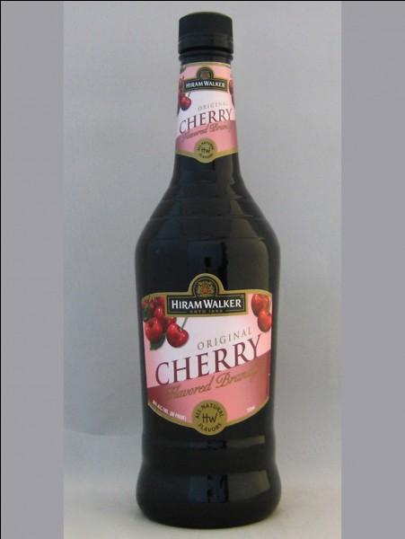 Quel est le pays d'origine du cherry brandy ?