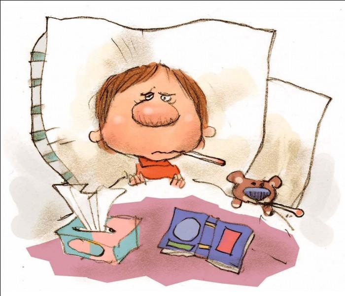 La grippe est considérée comme une maladie grave.