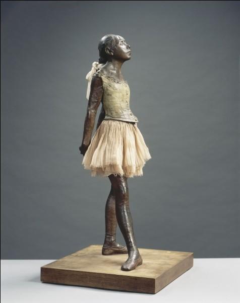 """Quel peintre français est l'auteur de cette sculpture intitulée """"La Petite Danseuse de quatorze ans"""" ?"""
