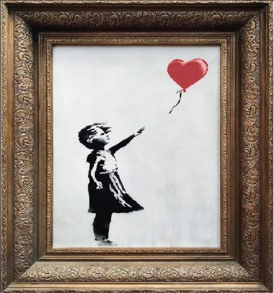 Quel le nom de cette toile de Banksy ?
