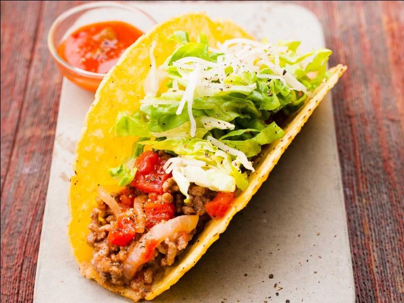Quel est le pays d'origine du taco ?