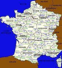 Saurez-vous situer ces communes ? (1821)