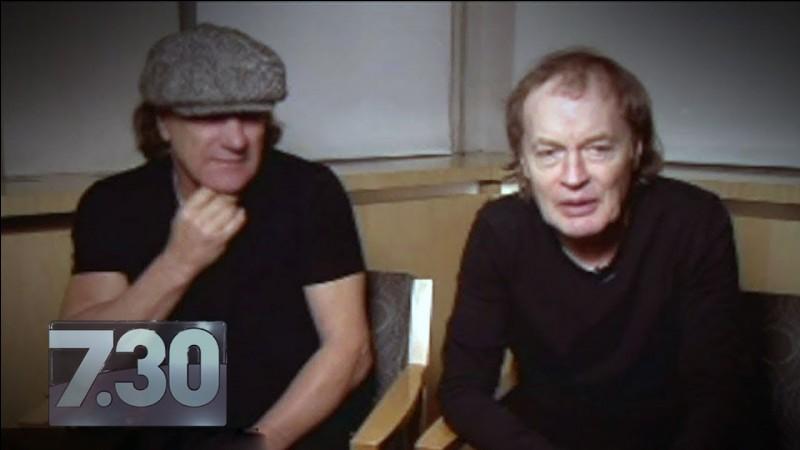 Est-ce exact que Malcolm et Angus YONG aient créé le groupe ?