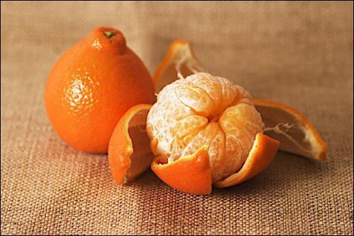 Quel est cet agrume issu du croisement d'un mandarinier et d'un pamplemoussier ?