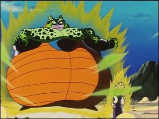 Lorsque Cell est sur le point d'exploser, sur quelle planète Goku se téléporte-t-il ?