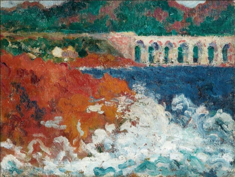 """Qui a peint """"Le Viaduc d'Antheor"""" ?"""