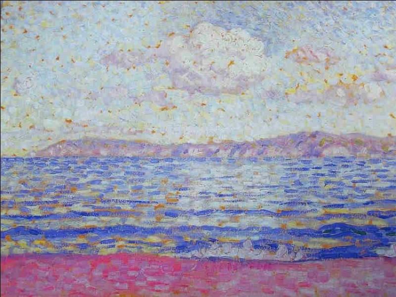 """Qui est le peintre de """"L'Ile du Levant"""" ?"""