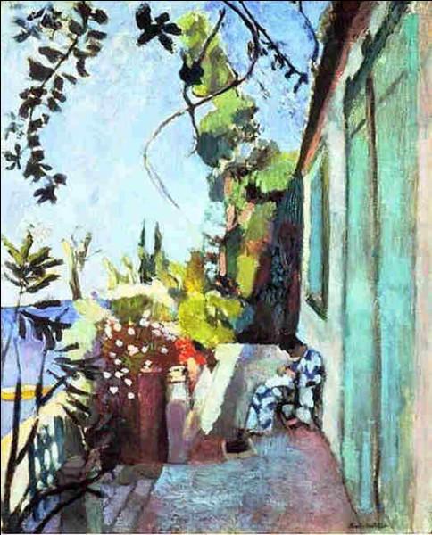 """Qui a peint """"La Terrasse à Saint-Tropez"""" ?"""