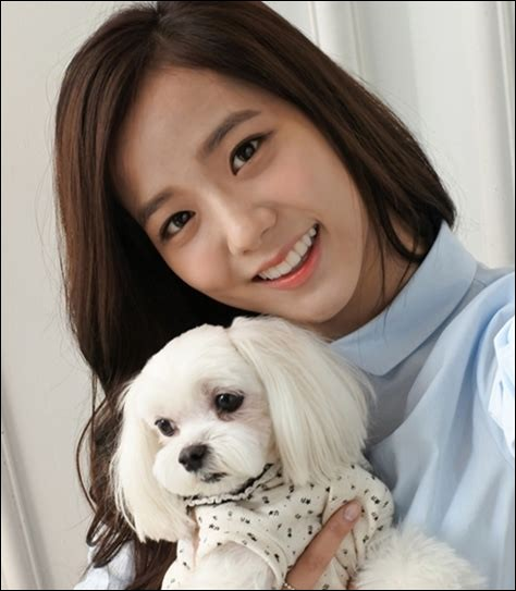 Comment le chien de Jisoo s'appelle-t-il ?