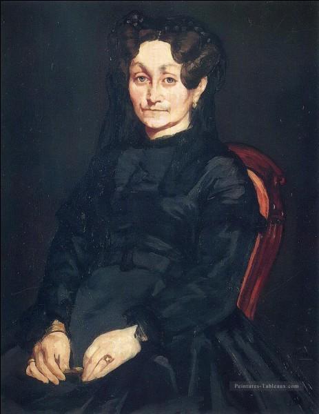 Par qui a été représentée Madame Auguste Manet ?