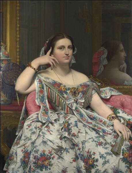"""Qui a réalisé la toile """"Madame Moitessier"""" ?"""