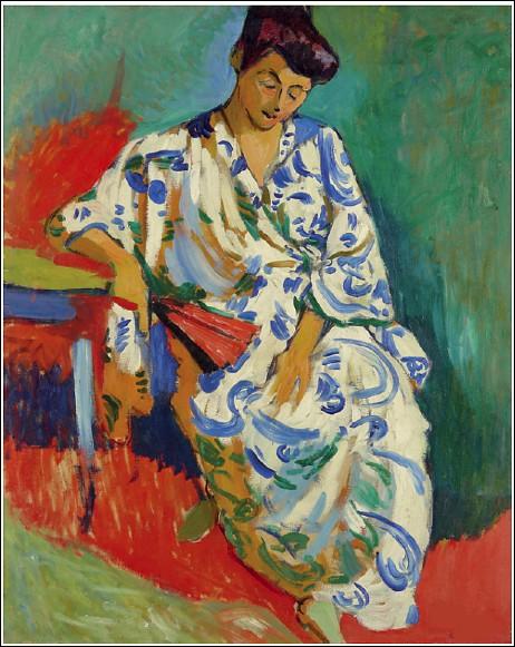 """Qui a peint """"Madame Matisse au kimono"""" ?"""