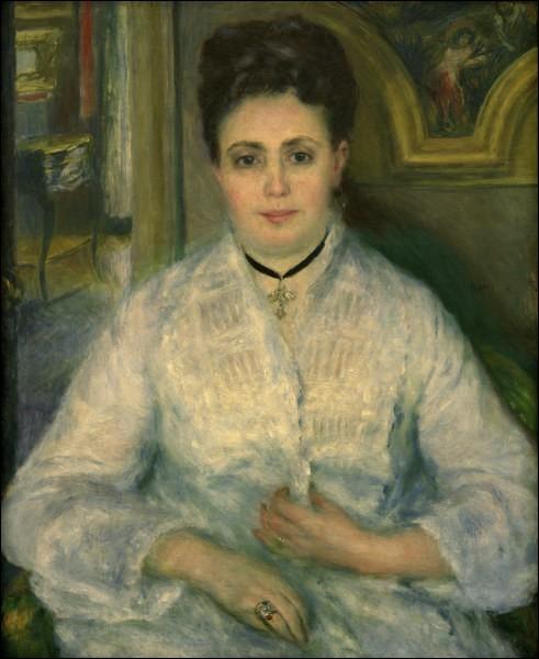 """Qui est le peintre de """"Madame Choquet"""" ?"""