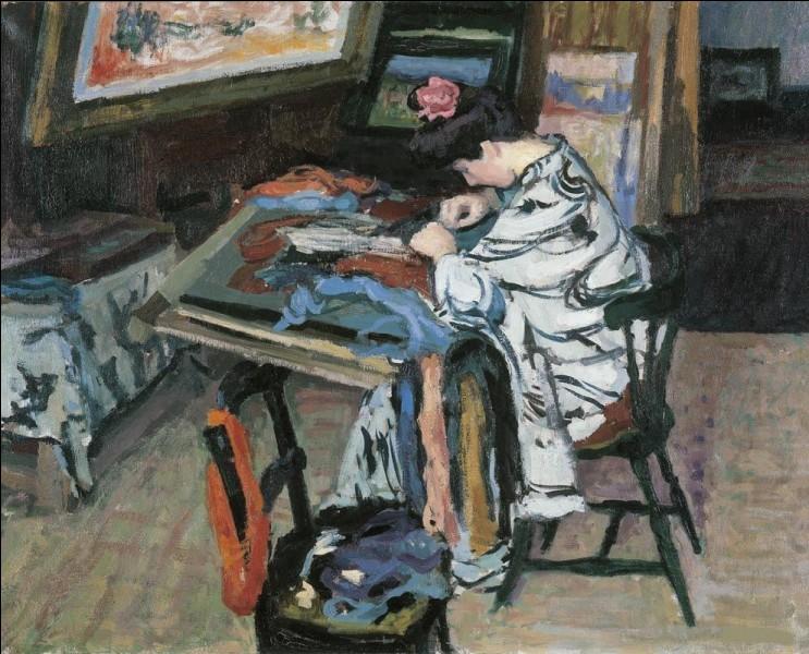 """Qui a représenté """"Madame Matisse faisant de la tapisserie"""" ?"""