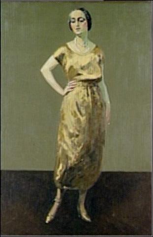 """Qui est le peintre de """"Madame Jenny"""" ?"""