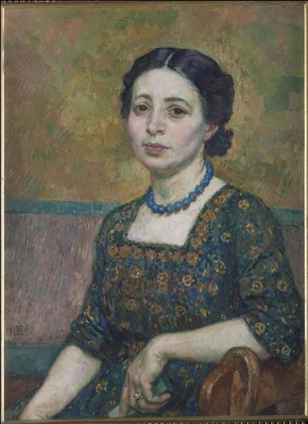 """Qui a peint """"Madame Auguste Perret"""" ?"""
