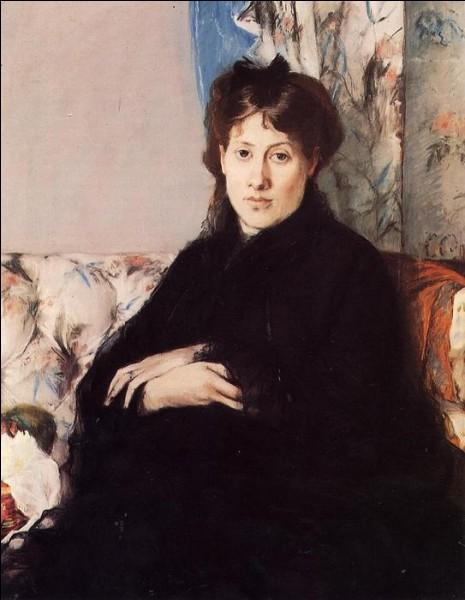 """Qui a fait le portrait de """"Madame Edma Pontillon"""" ?"""