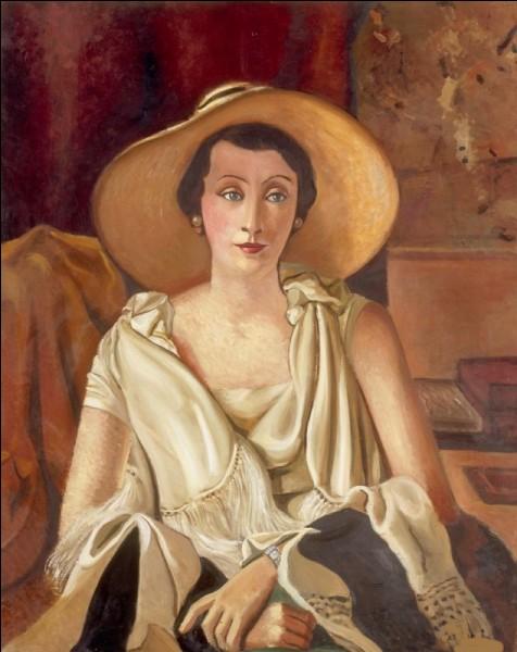 """Qui a réalisé le tableau intitulé """"Madame Paul Guillaume au grand chapeau"""" ?"""