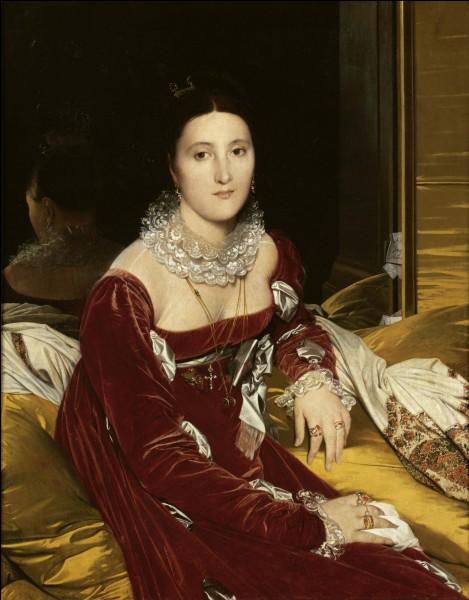 """Qui a peint """"Madame de Senonnes"""" ?"""