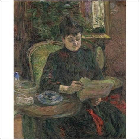 """Qui est le peintre de """"Madame Aline Gilbert"""" ?"""