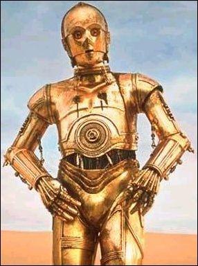 """De quelle couleur est Z-6PO dans """"Star Wars"""" ?"""