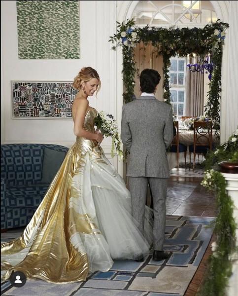 Avec qui Serena se marie-t-elle ?