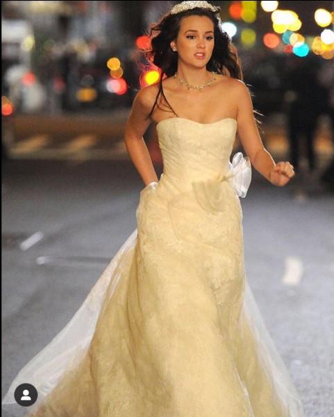 Avec qui Blair a-t-elle eu son mariage de princesse ?