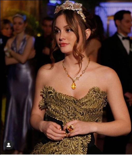 Avec qui Blair va-t-elle au bal ?