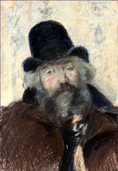 """Qui a réalisé le """"Portrait de Ludovic Piette avec un chapeau rond"""" ?"""
