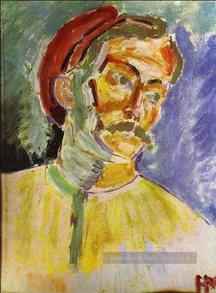 Qui a réalisé ce portrait d'André Derain ?