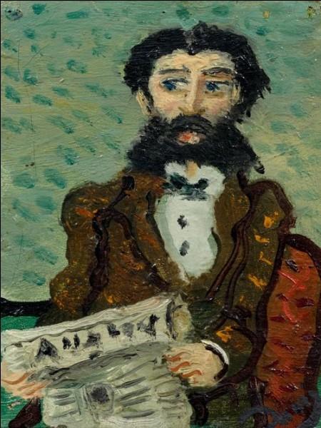 """Qui est le peintre de """"L'Homme au journal"""" ?"""